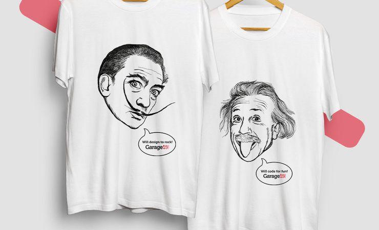 Корпоративные футболки - подарки коллегам и сотрудникам