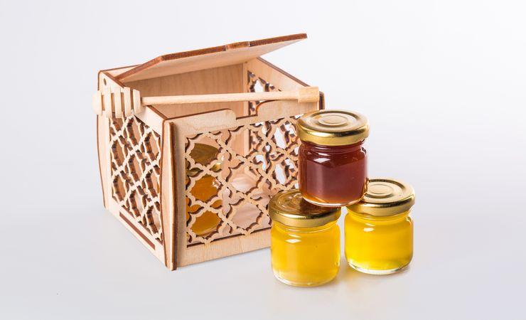 Эко-сладости: медовое ассорти