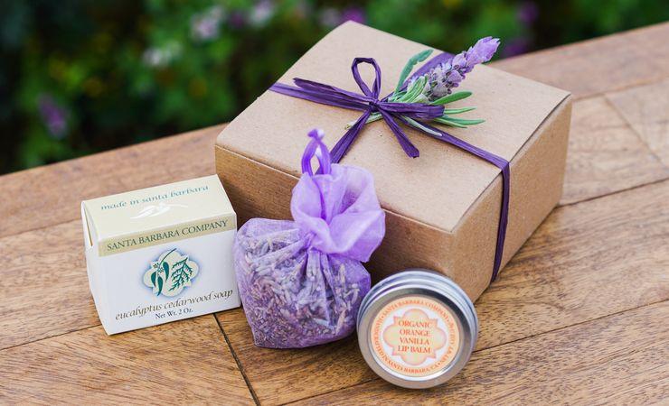 Идея корпоративного эко-подарка: натуральное мыло или саше
