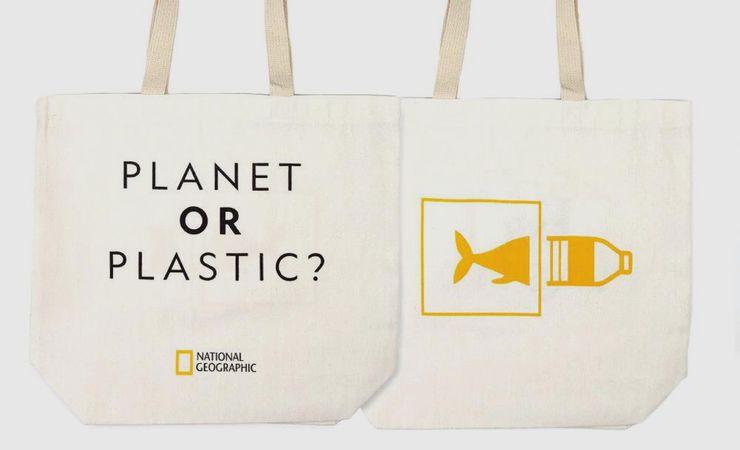 Идея для эко-подарка - тканевая сумка или авоська